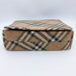 Burberry Linen Shoulder Bag - 00645