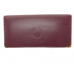 Cartier Vintage Flap Long Wallet - 00151