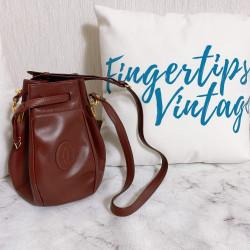 Cartier Vintage Bucket Bag - 00736