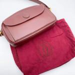 Cartier Vintage Front Pocket Shoulder Bag - 00752