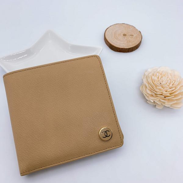 Chanel Vintage Logo Flap Wallet - 00601