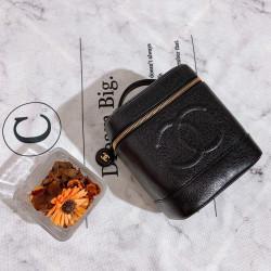 Chanel Vanity Case in Black - 00670