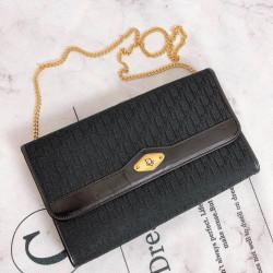 Christian Dior Vintage Monogram Shoulder Bag -  00758