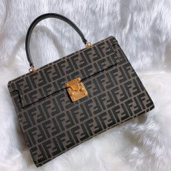 Fendi Vintage FF Monogram Envelope 2 Way Bag - 00115