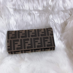 Fendi FF Monogram Flap Wallet - 00467