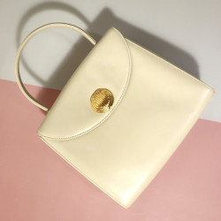 Givenchy Vintage White Handle Bag - 00899