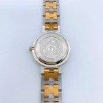 Hermes Clipper Ivory SS Watch - 00849