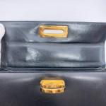 Salvatore Ferragamo Kelly Medium 2 Way Bag in Navy - 00097