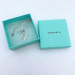 Tiffany & Co. Silver Cross Heart Necklace - 00831