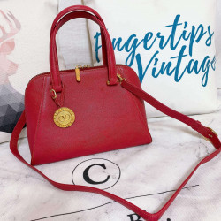 Valentino Vintage Circle Logo 2 Way Bag - 00818