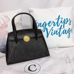 Valentino Vintage Circle Logo Handle Bag - 00847